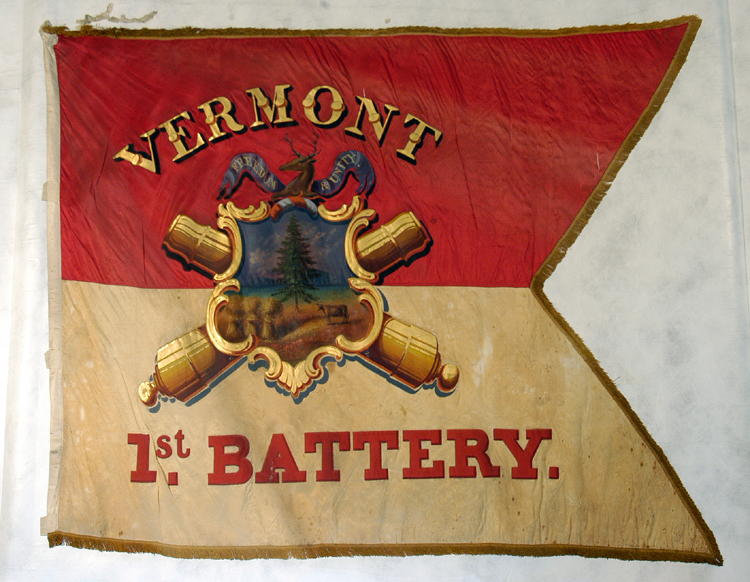 1st Vermont Battery, Light Artillery, Regimental Flag.jpg