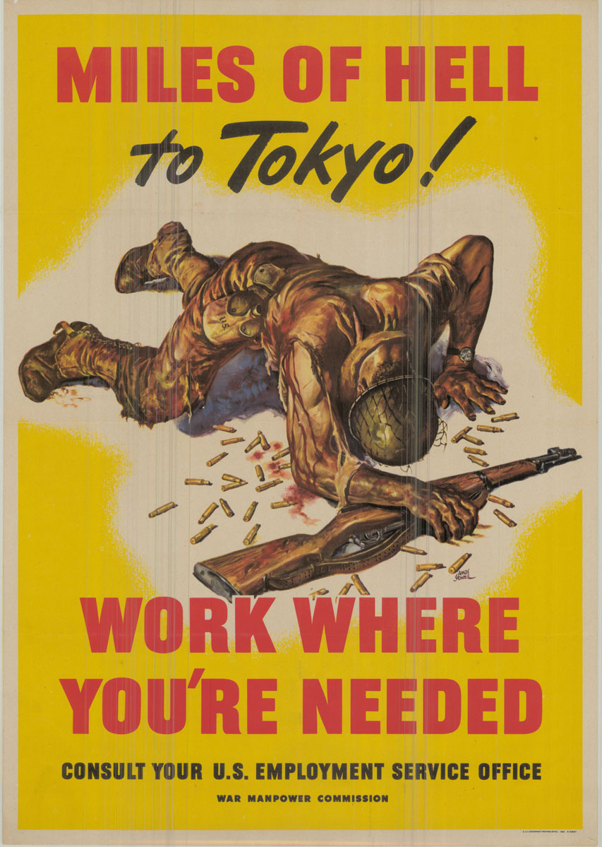 Miles of Hell to Tokyo poster