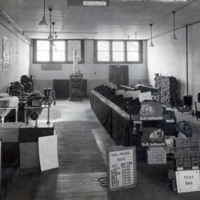 Calder & Richardson Store Interior with Coal Price Lists and Samples