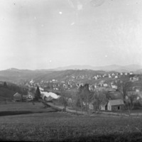 Montpelier as Seen from Berlin Street Hill
