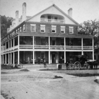 Pavilion Hotel, between 1865 and 1870