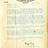 Letter about preparing Vermont for the 1918 influenza epidemic.