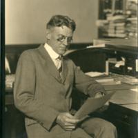 Montpelier resident and 1918 diarist Dorman B. E Kent.
