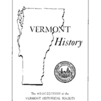 Vermont attitudes toward slavery : the need for a closer look
