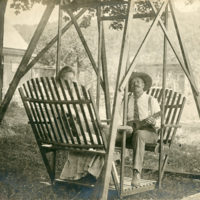 Julius Willard and Alice Perham on Swing