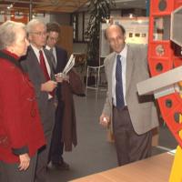 Ambassador Madeleine Kunin visits CERN
