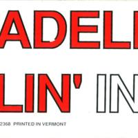"""""""Send Madeleine a paddlin' in '88"""" sticker"""