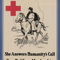 The public health nurse, she answers humanity's call : Your Red Cross membership makes her work possible