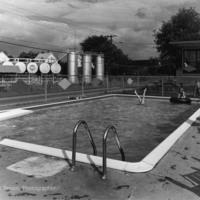 Pool and Oil Tanks