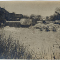 Flood of 1911 (?) on South Main Street