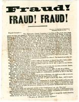 Fraud! Fraud! Fraud!, 1844
