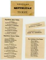 Regular Republican Ticket, 1884