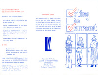 League of Women Voters of Vermont Guide to Voting in Vermont, 1971